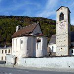 Монастир Святого Іоанна в швейцарській долині Мюстаїр
